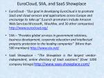 eurocloud siia and saas showplace