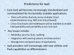 predictions for iaas