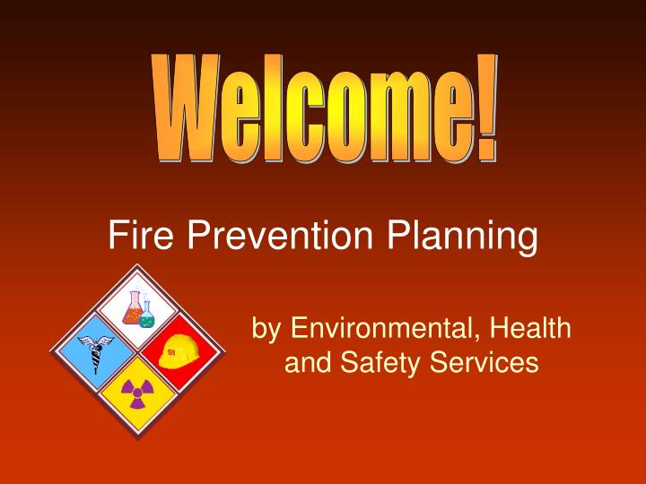 Fire prevention planning