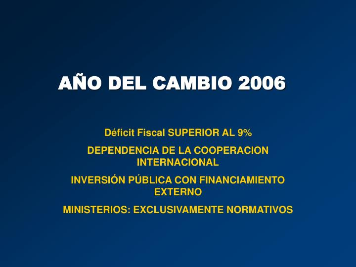 Déficit Fiscal SUPERIOR AL 9%