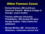 other famous cases