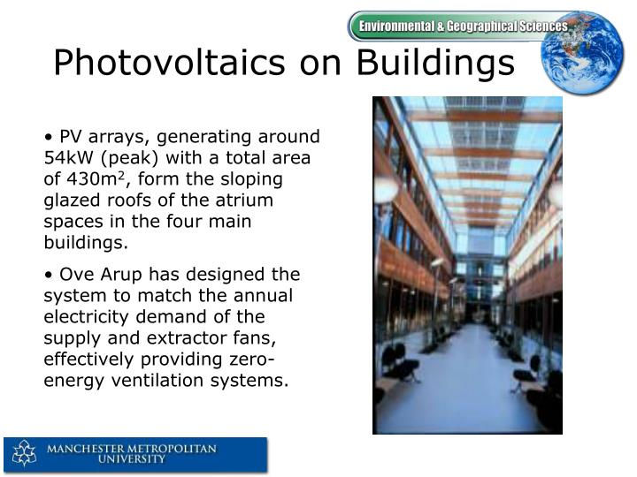 Photovoltaics on Buildings
