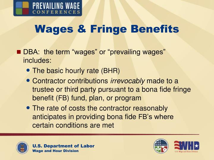Wages & Fringe Benefits