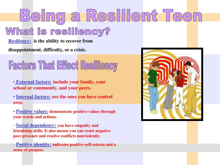 Being a Resilient Teen