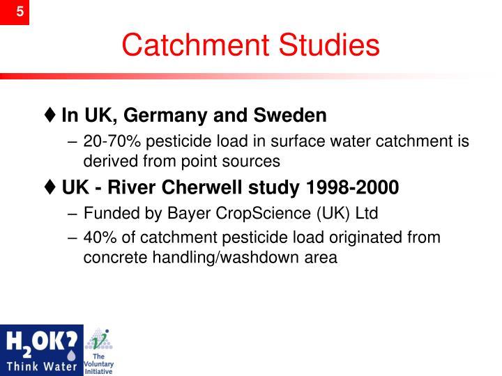 Catchment Studies