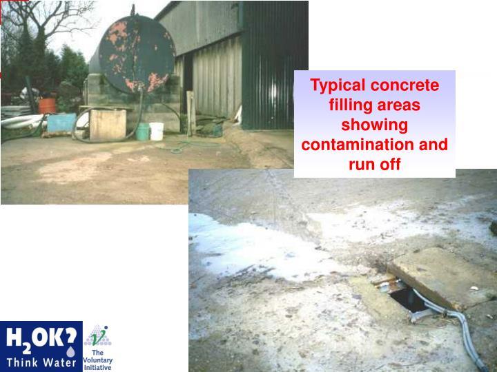 Concrete Filling Areas