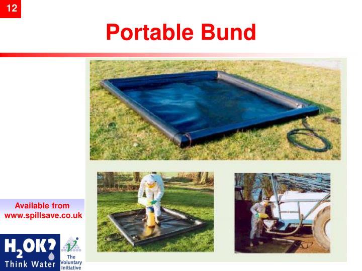 Portable Bund