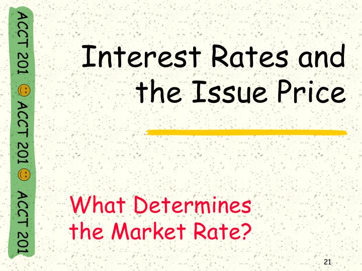 Interest Rates and