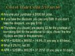 cost of trade credit 2 10 net 60