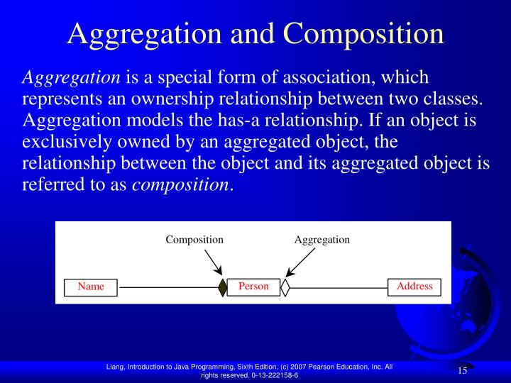 Aggregation and Composition
