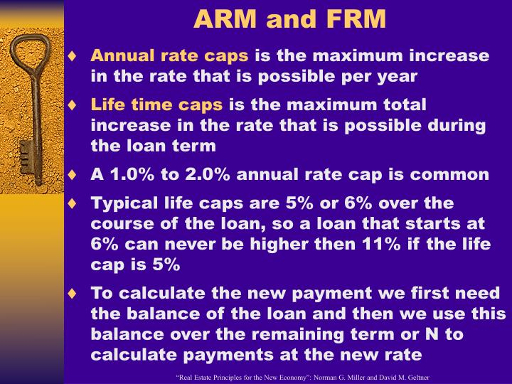 ARM and FRM