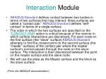 interaction module1