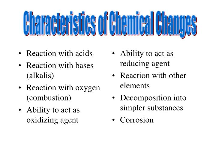 Reaction with acids