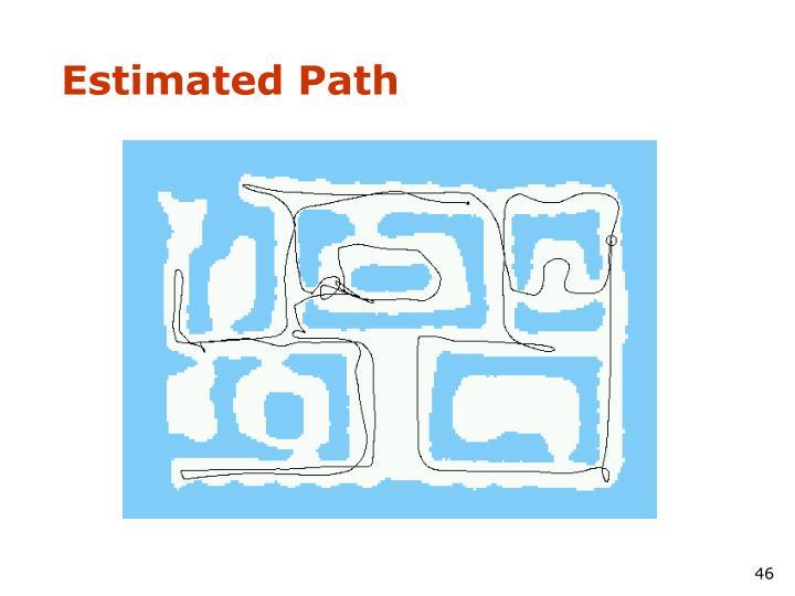 Estimated Path