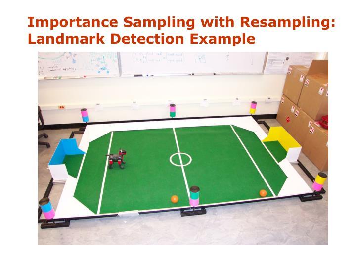 Importance Sampling with Resampling: