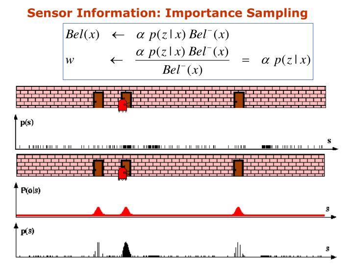 Sensor Information: Importance Sampling