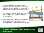 scraper systems fast reliable easy to maintain