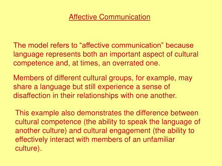 Affective Communication