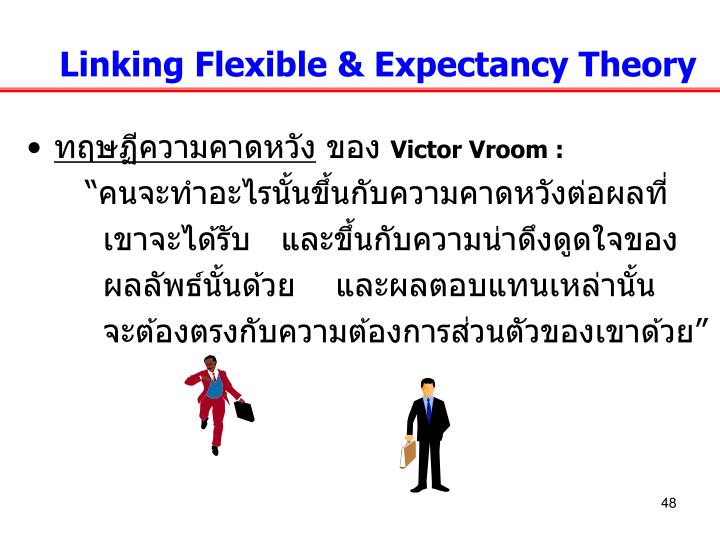 Linking Flexible & Expectancy Theory