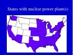 states with nuclear power plant s