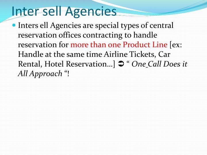 Inter sell Agencies
