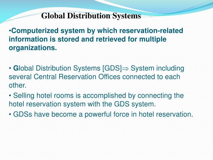 Global Distribution Systems
