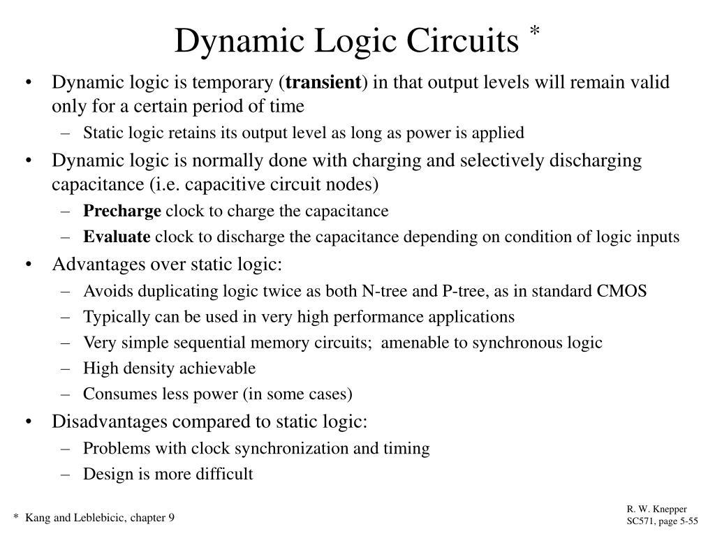 Ppt Dynamic Logic Circuits Powerpoint Presentation Id1268102 N