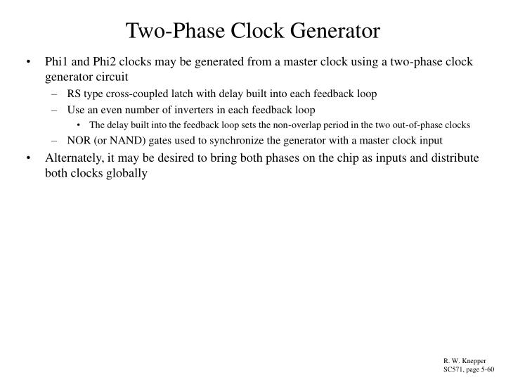 Two-Phase Clock Generator