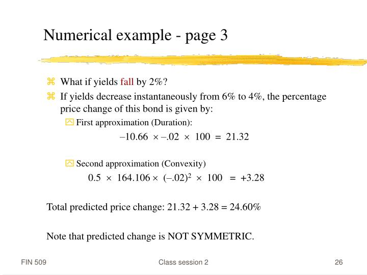 Numerical example - page 3
