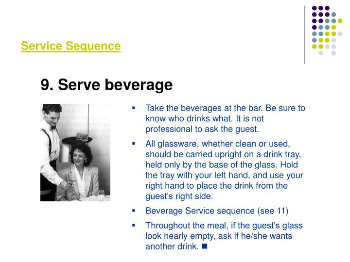 Service Sequence