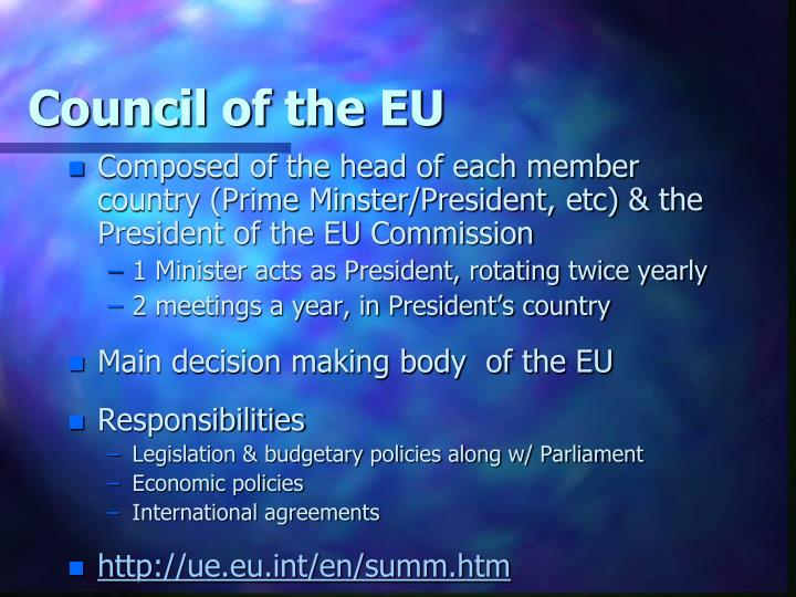 Council of the EU