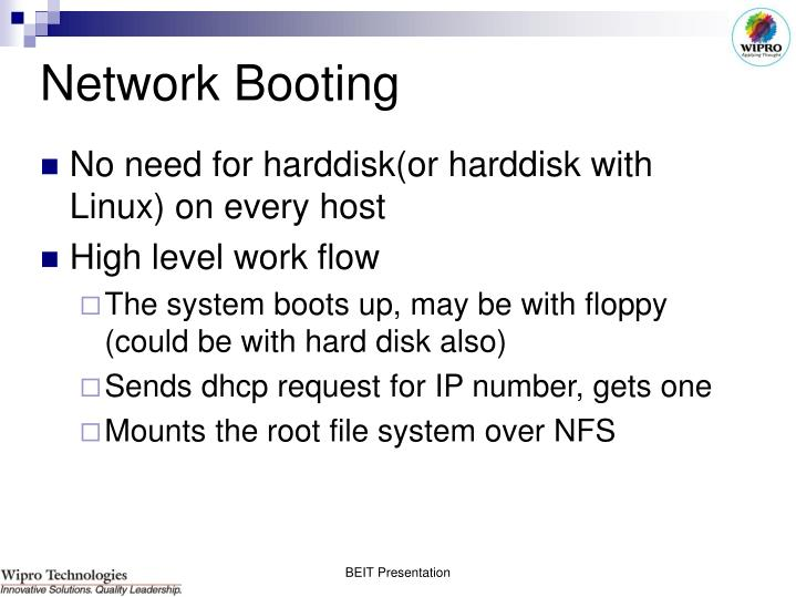 Network Booting