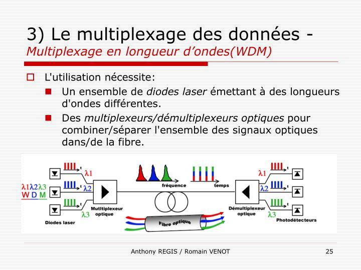 3) Le multiplexage des données -