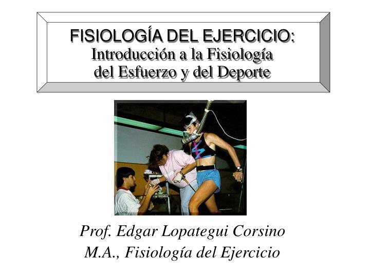 Fisiolog a del ejercicio introducci n a la fisiolog a del esfuerzo y del deporte