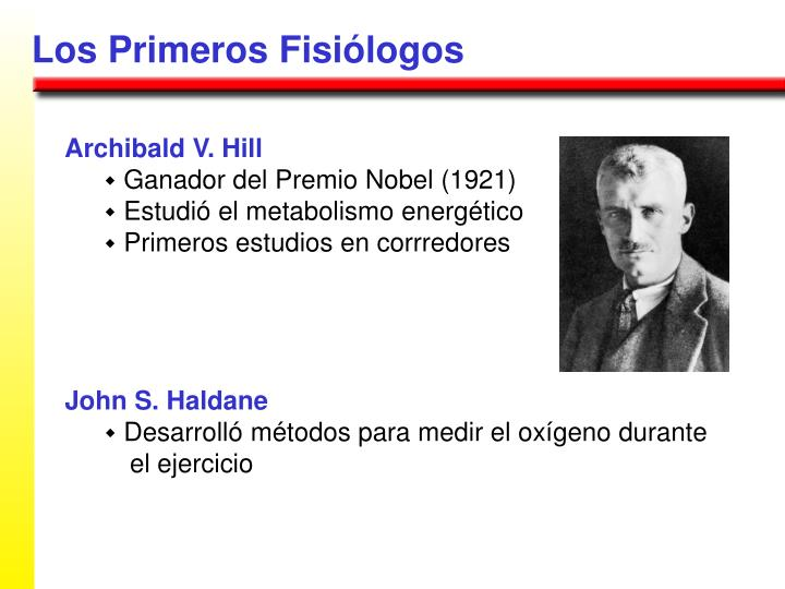 Los Primeros Fisiólogos
