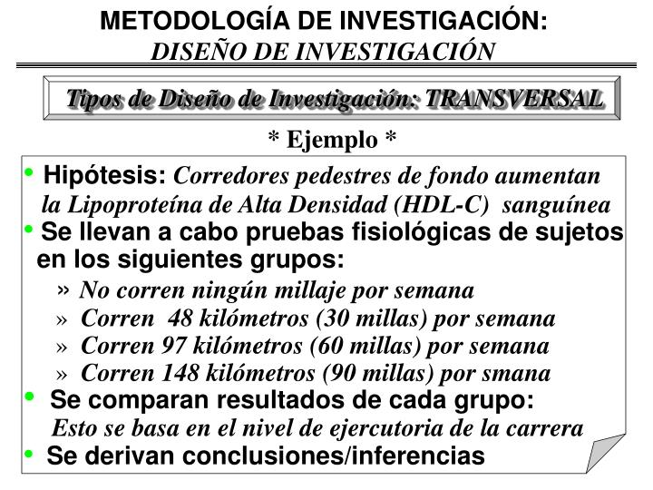 METODOLOGÍA DE INVESTIGACIÓN: