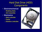 hard disk drive hdd components