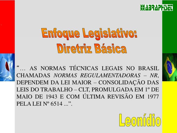 Enfoque Legislativo: