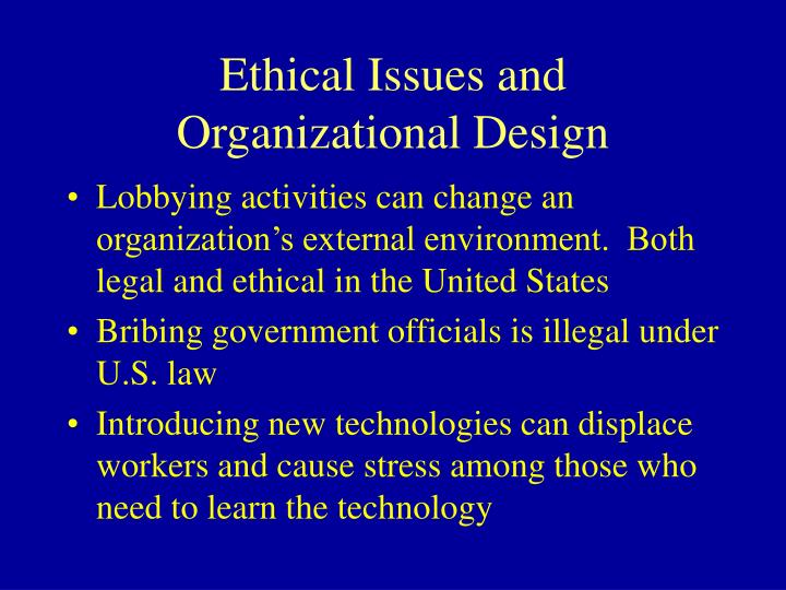 Ethical Issues and