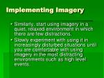 implementing imagery1