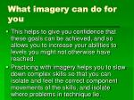 what imagery can do for you1