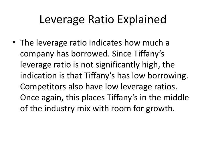 Leverage Ratio Explained
