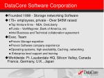 datacore software corporation