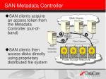 san metadata controller