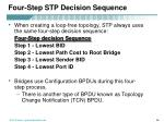 four step stp decision sequence