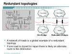 redundant topologies