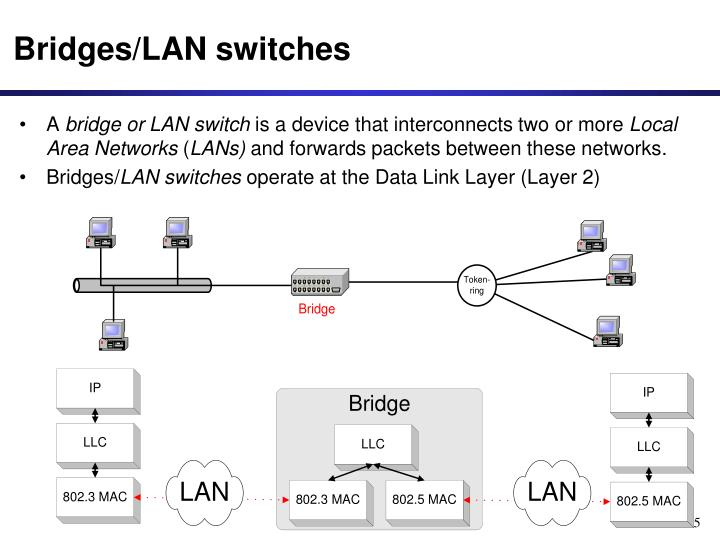 Bridges/LAN switches