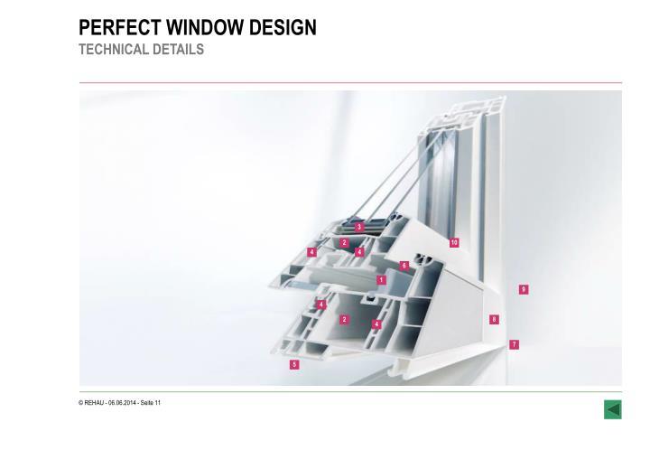 PERFECT WINDOW DESIGN