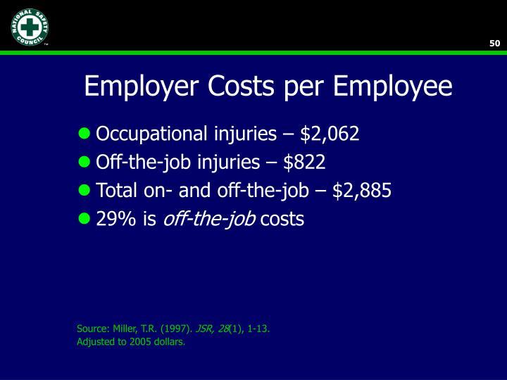 Employer Costs per Employee