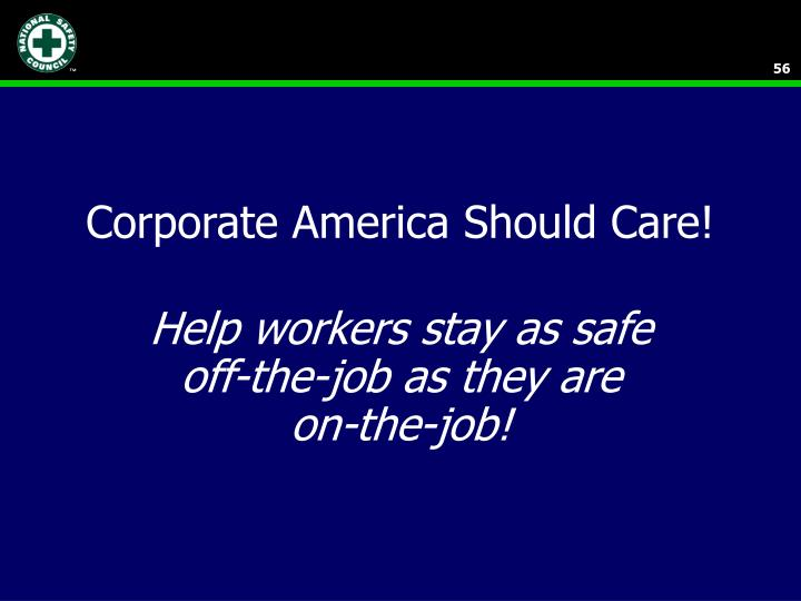 Help workers stay as safe